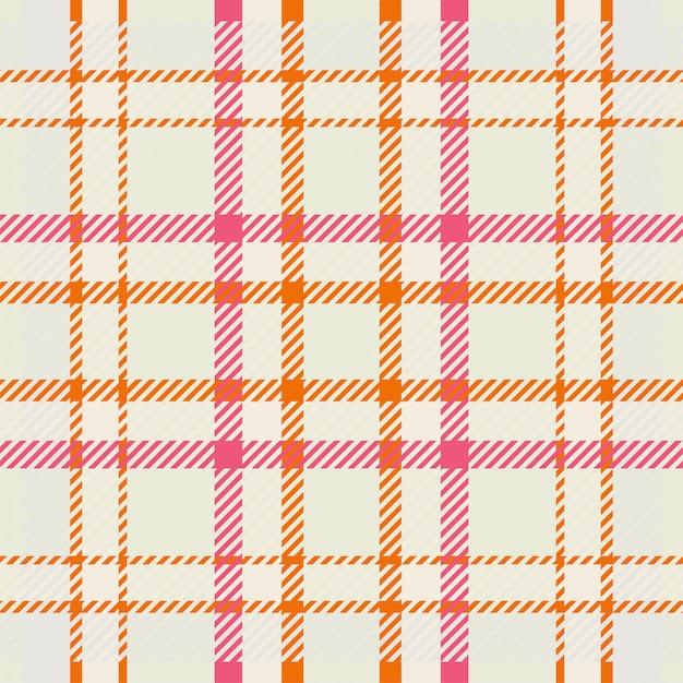 Ткань шотландия бесшовные плед узор фона, винтажные чек цвет квадрат геометрические текстуры, Premium векторы