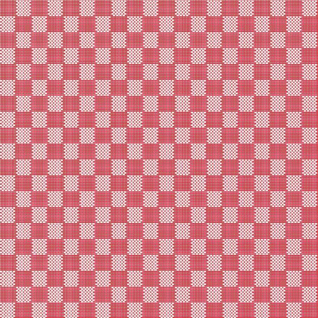 Красная бесшовная текстура ткани Premium векторы