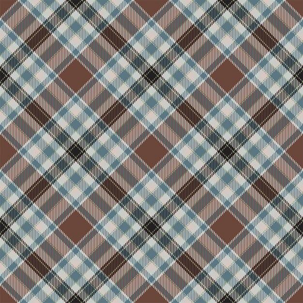 Тартан шотландия бесшовные плед. ретро фон ткани. винтаж проверить цвет квадрат геометрические текстуры. Premium векторы