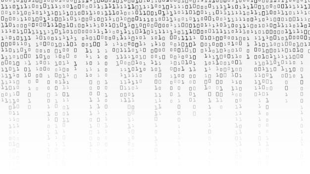 Бинарный код Premium векторы