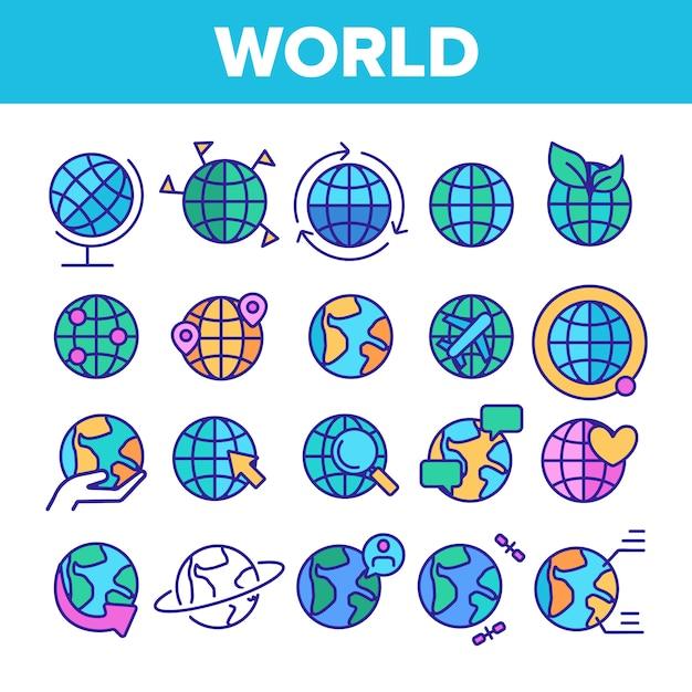 世界 Premiumベクター