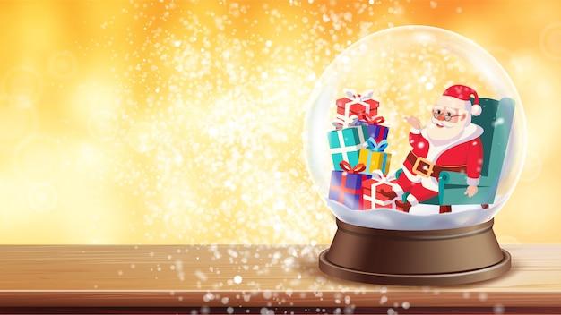 クリスマスグリーティングカード Premiumベクター