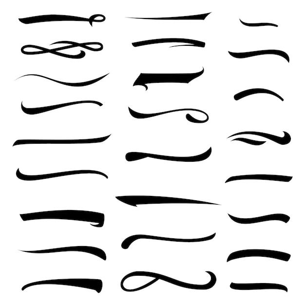 Установлены белые линии надписи Premium векторы