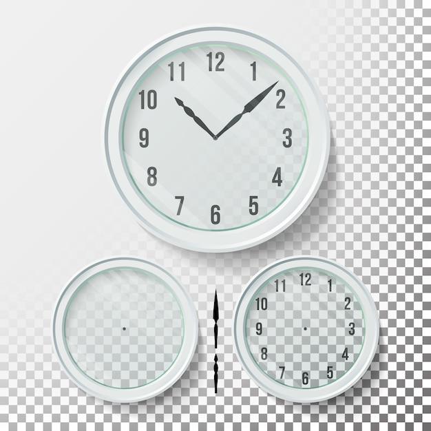 リアルな掛け時計 Premiumベクター