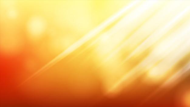 Солнечный свет. абстрактное сияние. Premium векторы