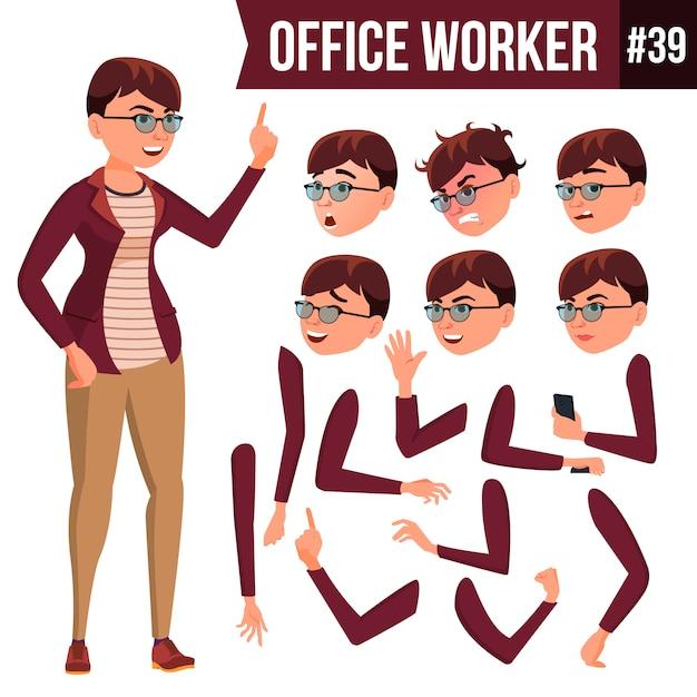 オフィスワーカー Premiumベクター