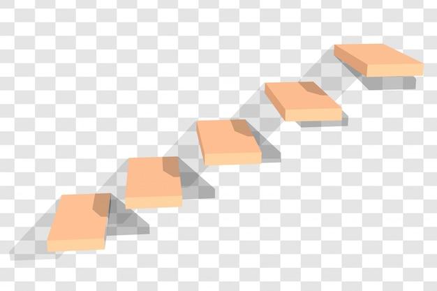 コンクリート階段 Premiumベクター