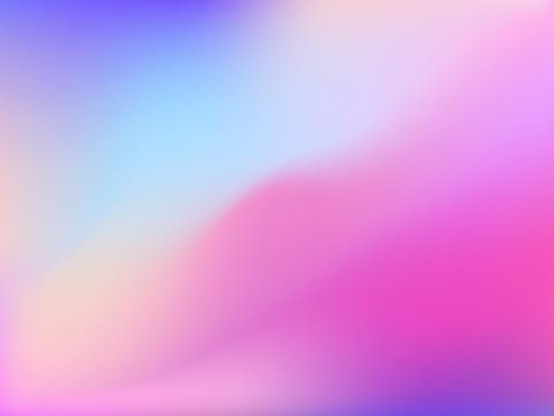 穏やかなピンク色の抽象的なメッシュバックグラウンド。ペイントの縞を模倣したグラデーションメッシュ Premiumベクター