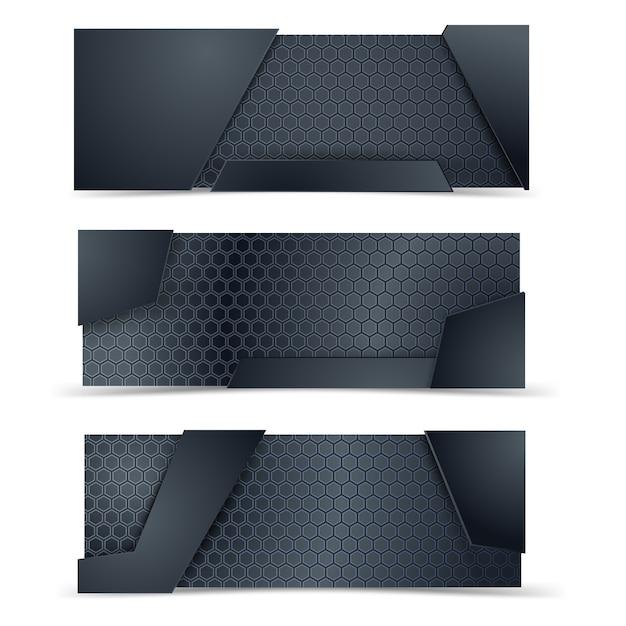 金属と炭素の素地設計。 Premiumベクター