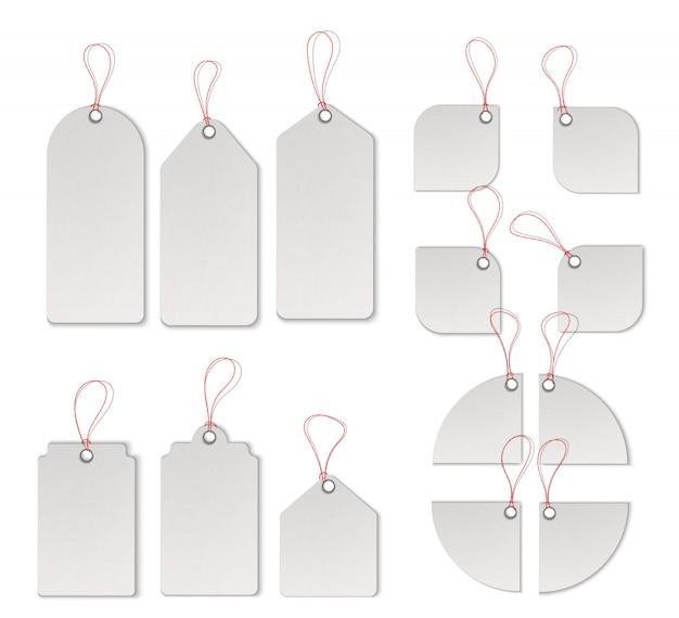 販売タグとラベルベクトルテンプレートセット Premiumベクター