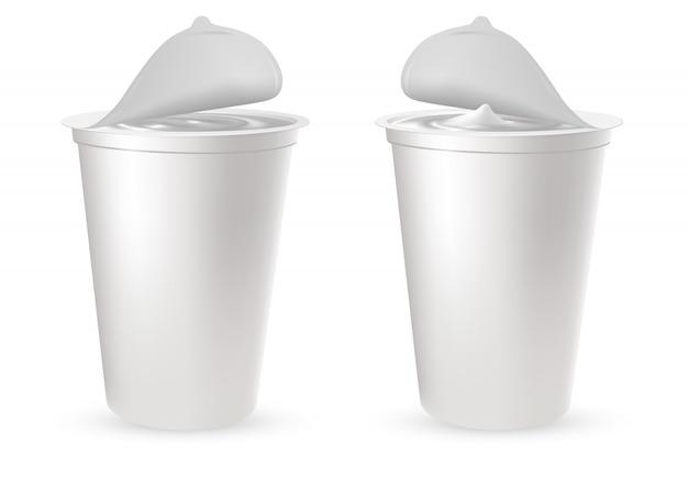 プラスチックパッケージ Premiumベクター