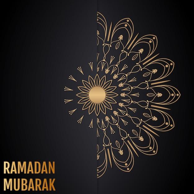 イスラムのベクトルの背景。ラマダンムバラク。 Premiumベクター
