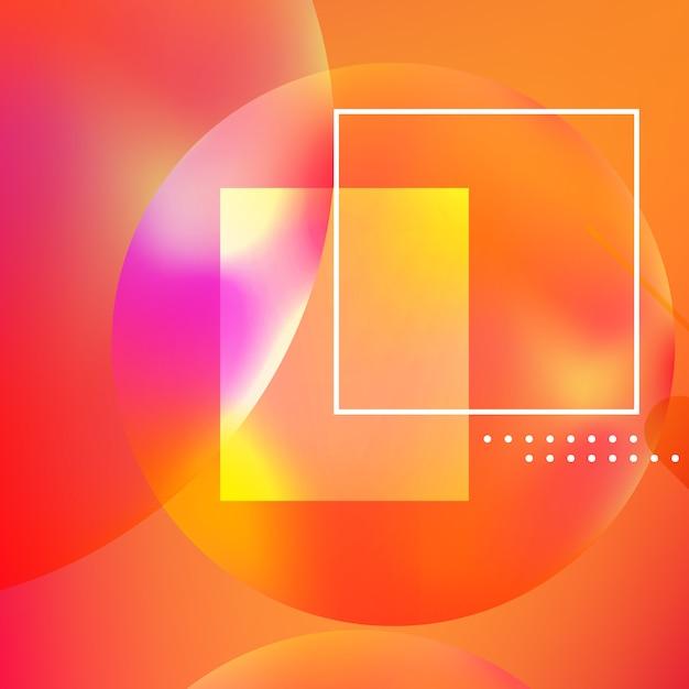 抽象的な背景最小限の幾何学的デザイン。 Premiumベクター