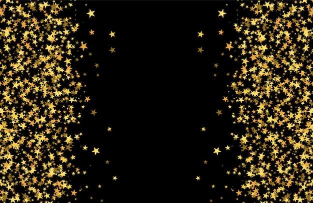 Блестящий узор из звезд Premium векторы