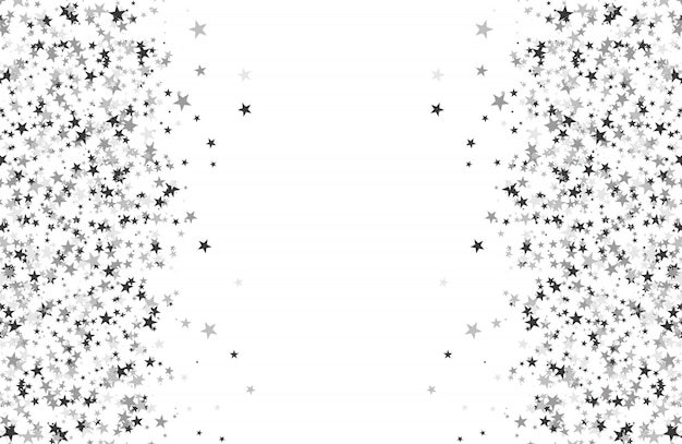 星で作られたキラキラパターン Premiumベクター