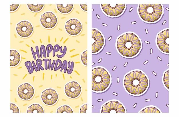Месяцев мальчик, открытки с пончиками