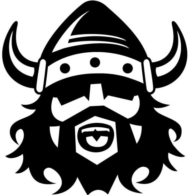 Викинг шлем с векторных иллюстраций Бесплатные векторы