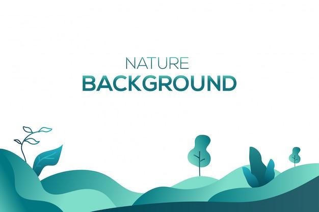 自然液体イラスト背景ベクトル Premiumベクター