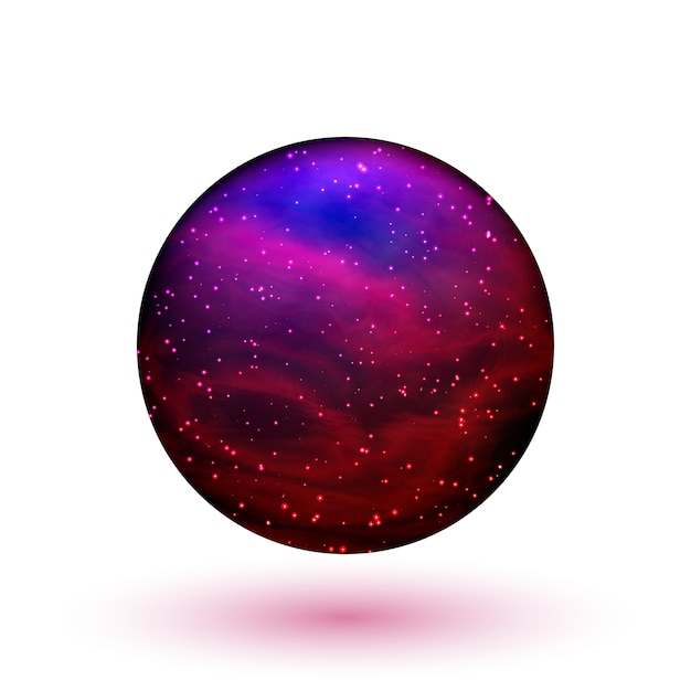 占い師のための水晶球 Premiumベクター