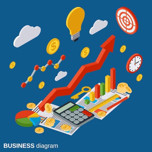 財務統計 Premiumベクター