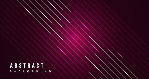 抽象的な線の赤の背景 Premiumベクター
