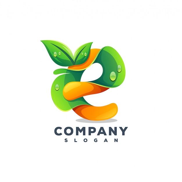 Дизайн логотипа сока Premium векторы
