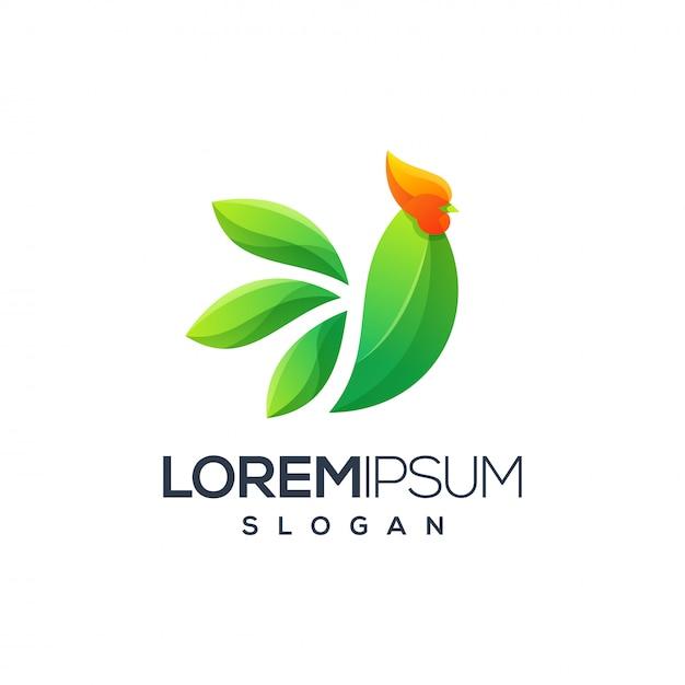 Дизайн логотипа петуха, вектор, иллюстрация готова к использованию для вашей компании Premium векторы