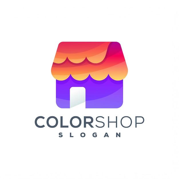 Логотип магазина Premium векторы