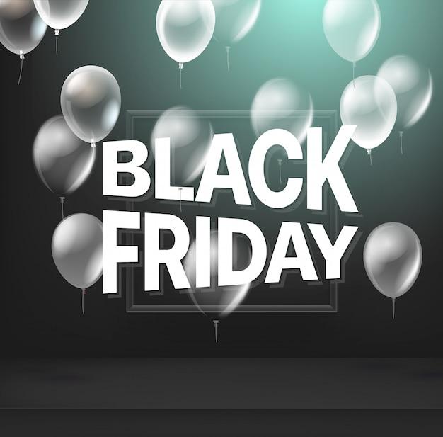 Черная пятница продажа баннер Premium векторы