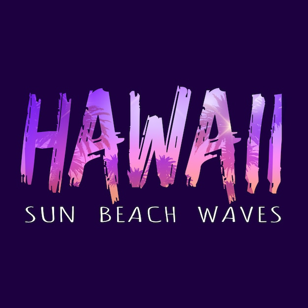ハワイ Premiumベクター