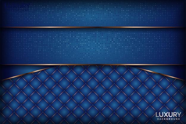 抽象的なロイヤルブルーの背景 Premiumベクター