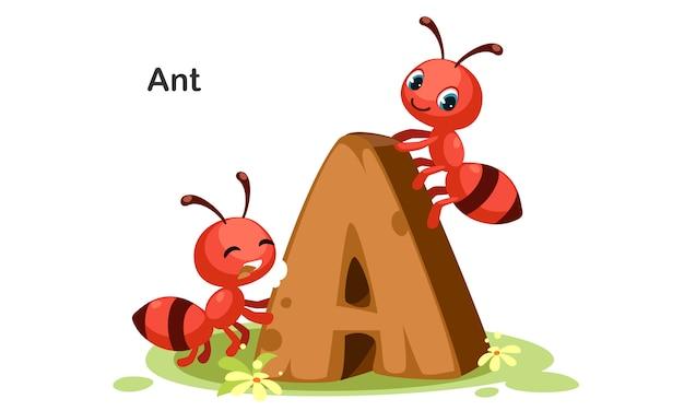 А для муравья Premium векторы
