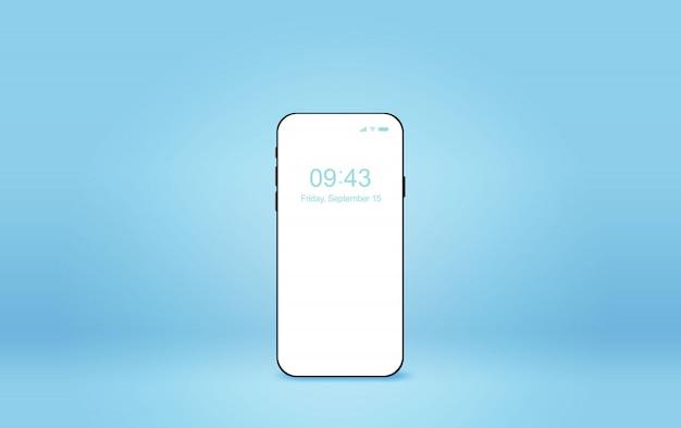 Современный смартфон макет. Premium векторы