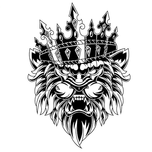 Король лев Premium векторы