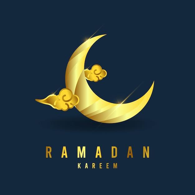 Рамадан карим шаблон. иллюстрация полноцветная. Premium векторы