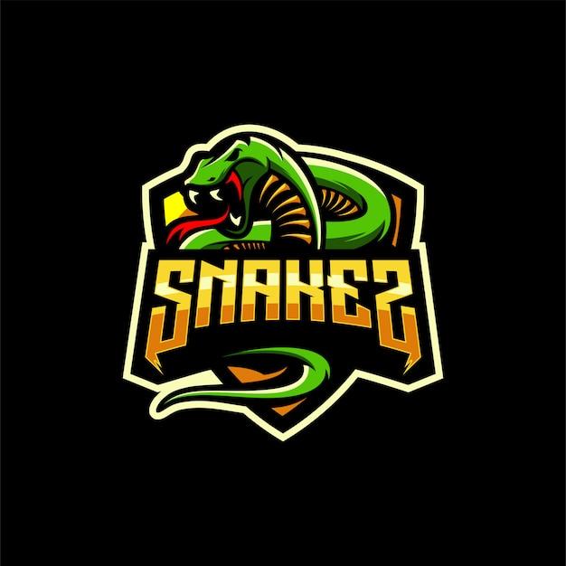 Змея дизайн логотипа Premium векторы
