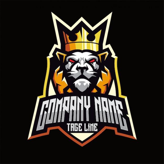 ライオンのロゴ Premiumベクター