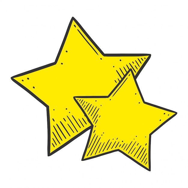 星。 Premiumベクター