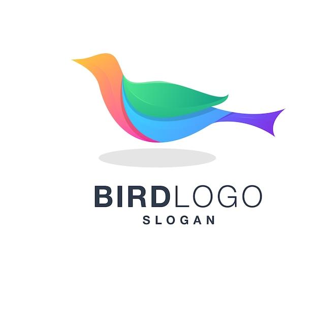 Логотип птицы Premium векторы