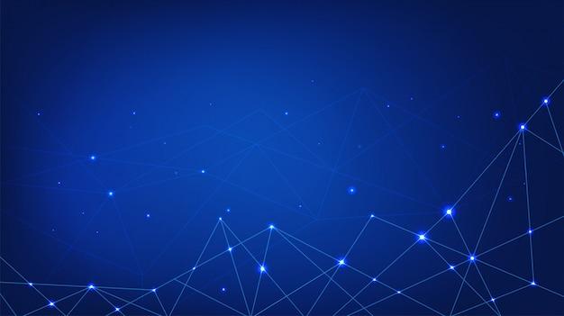 Цифровые технологии фон Premium векторы