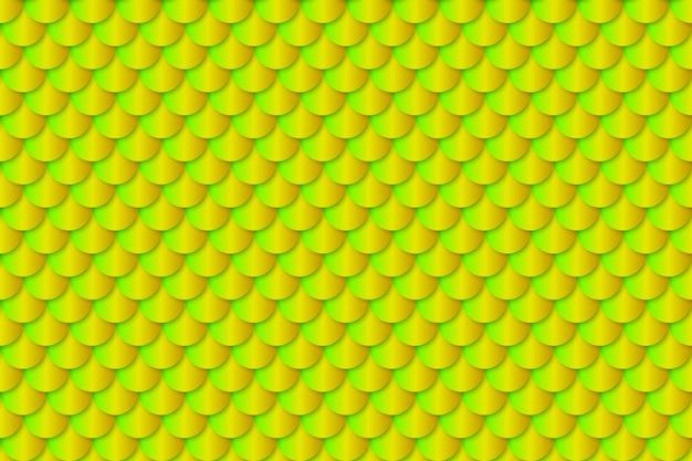 人魚の尾ホイルテクスチャ効果のシームレスパターン Premiumベクター