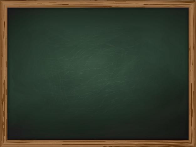 Школьная доска фоновой текстуры с рамкой вектор Premium векторы