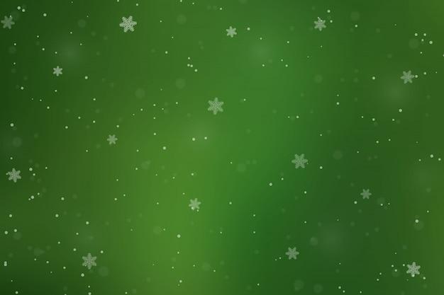 休日の冬の背景 Premiumベクター