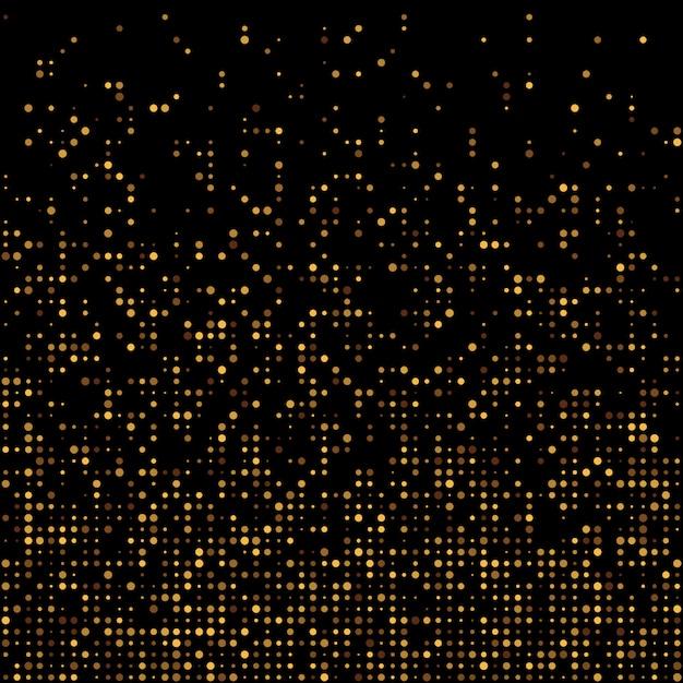 Золотой фон диско блеск. Premium векторы