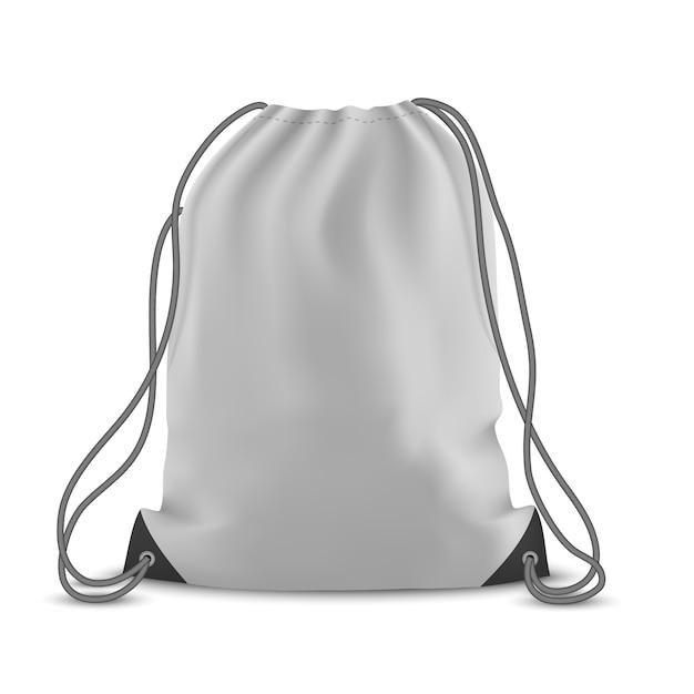 Рюкзак сумка изолированная Premium векторы