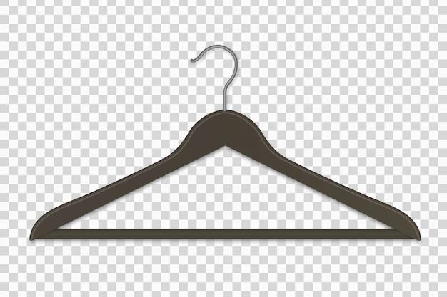 リアルなプラスチック製の洋服ハンガー絶縁型ベクトルイラスト Premiumベクター