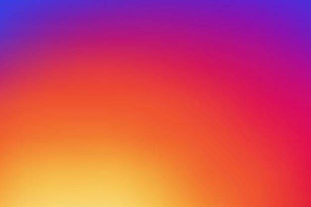Красочный гладкий градиент фона Premium векторы