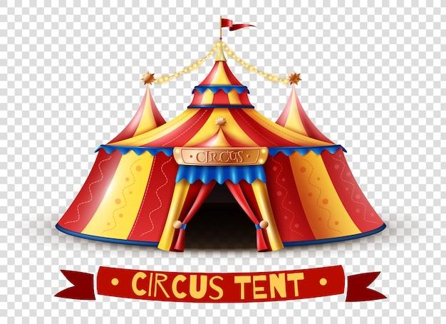 Прозрачное фоновое изображение цирка Premium векторы