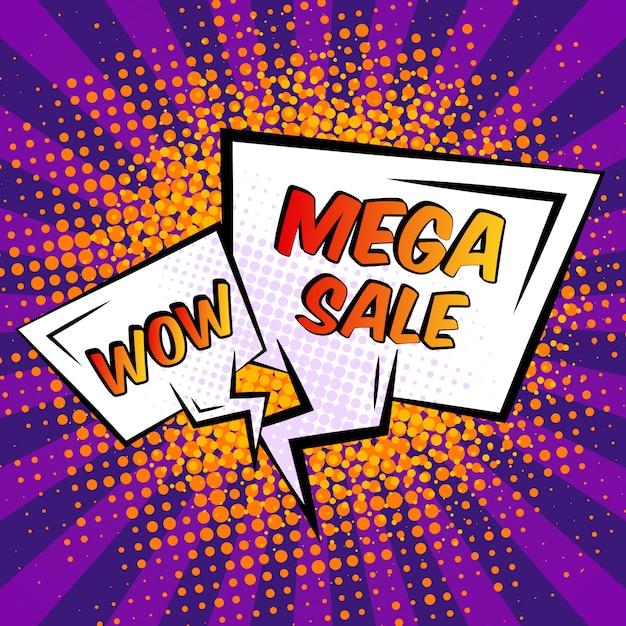 Продажа речи пузырь Premium векторы