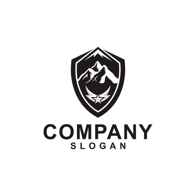 山のロゴコレクション Premiumベクター